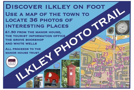Ilkley Photo Trail flier